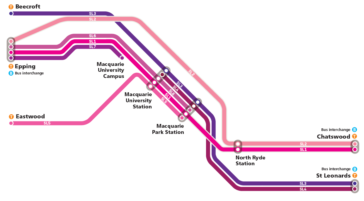 map of Station Link
